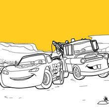 Dibujo para colorear : Cars