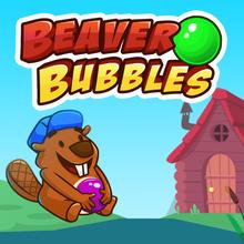 Juego para niños : Beaver Bubbles