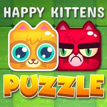 Juego para niños : Happy Kitten Puzzle