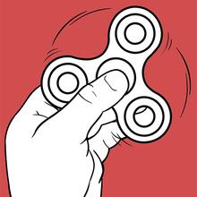 Dibujo para colorear : Fidget Spinner 3