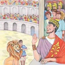 Cuento : Androcles y el león