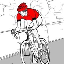 Dibujo para colorear : Tour de France