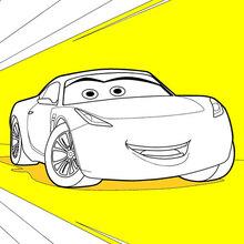 Dibujo para colorear : Cars 3: Cruz Ramirez