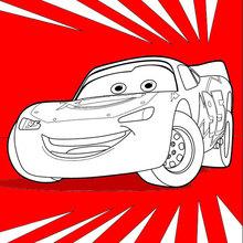 Dibujo para colorear : Cars 3: Lightning McQueen