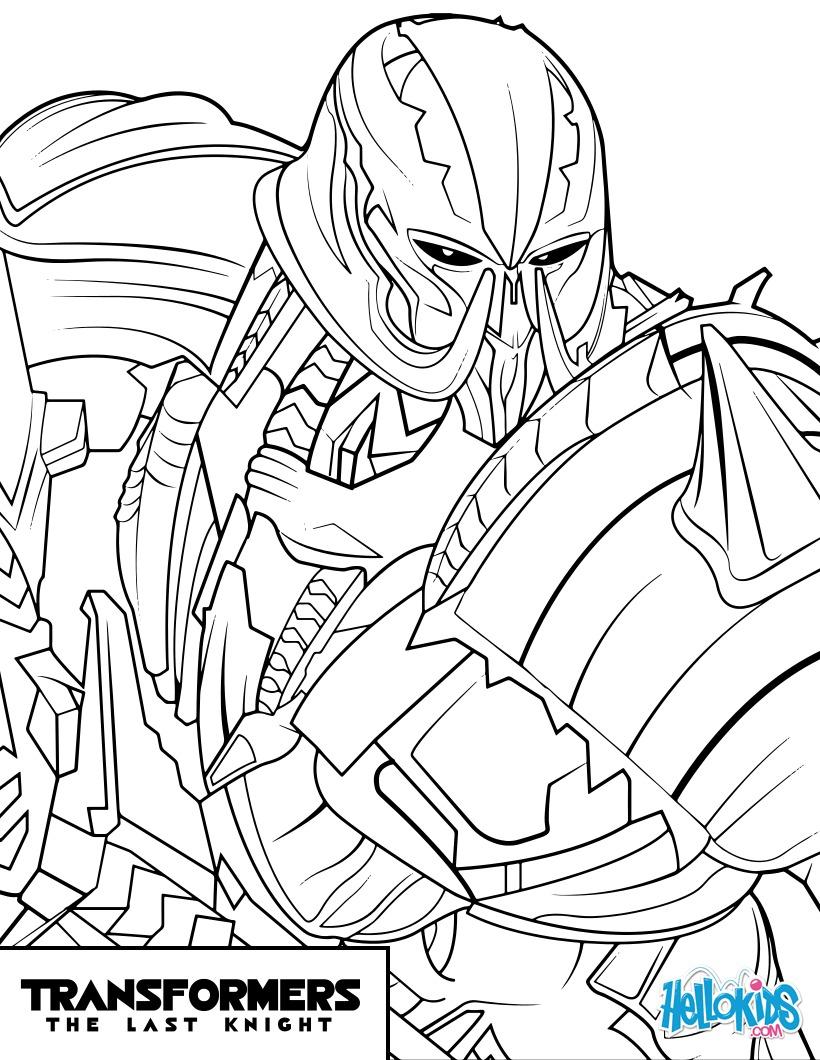 Transformers Para Colorear Megatron picture gallery