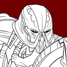 Dibujo para colorear : Transformers Megatron