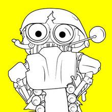 Dibujos Para Colorear Personajes Eshellokidscom