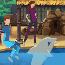 Juego para niños : My Dolphin Show 3