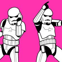 Bailando Stormtroopers