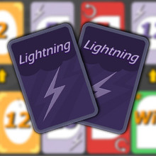 Juego para niños : Lightning Cards