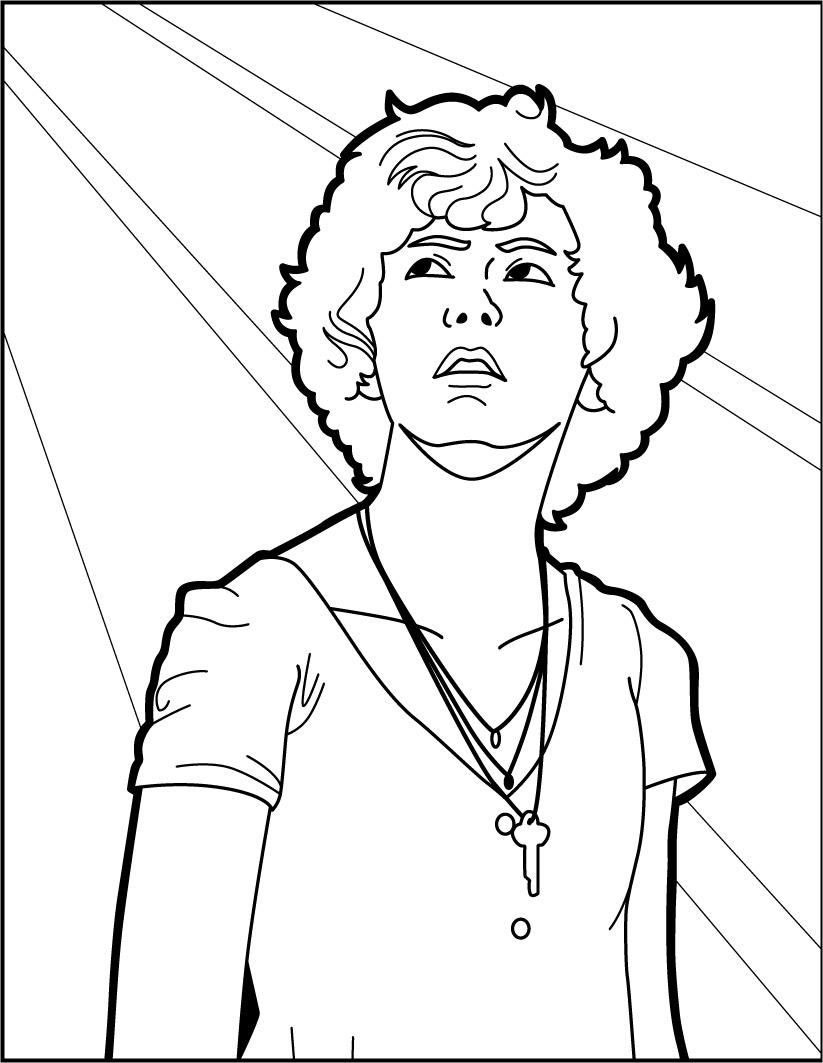Dibujos Para Colorear It Beverly Marsh Eshellokidscom