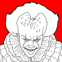 Dibujo para colorear : IT: Pennywise
