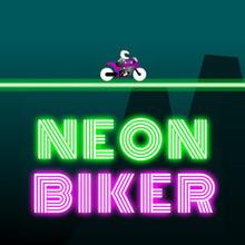 Juego para niños : Neon Biker