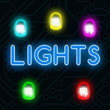 Juego para niños : Lights