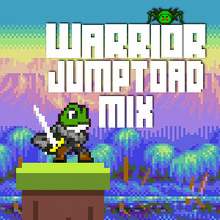 Juego para niños : Warrior Jump Toad Mix