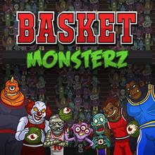 Juego para niños : Basket Monsterz