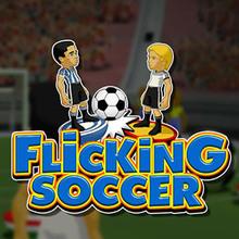 Juego para niños : Flicking Soccer