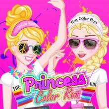 Juego para niños : Princess Color Run
