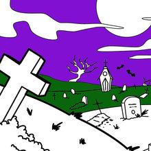 Cementerio espantoso