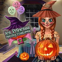 Juego para niños : Ice Princess Halloween Costumes