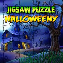 Juego para niños : Jigsaw Puzzle: Halloweeny