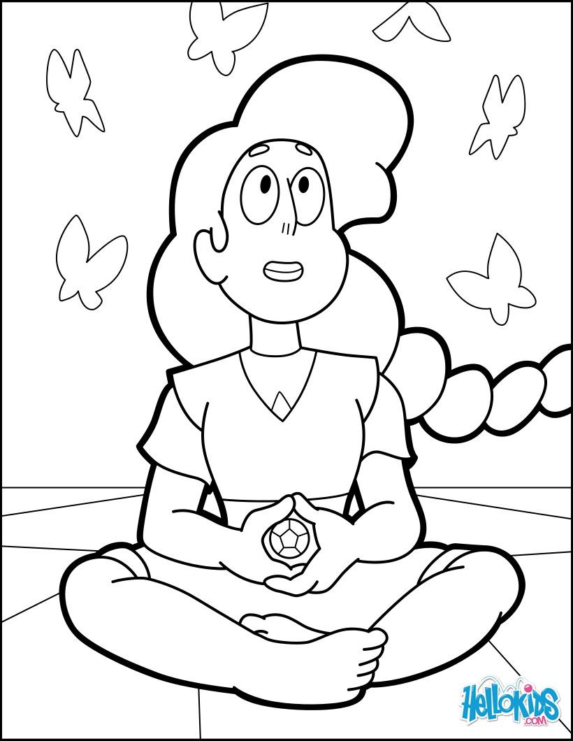 Dibujo para colorear : Educación Consciente Stevonnie