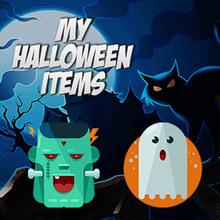 Juego para niños : My Halloween Items