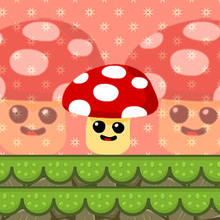 Juego para niños : Mushroom Fall