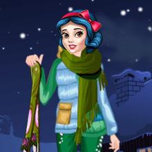 Juego para niños : Princess Winter Skiing