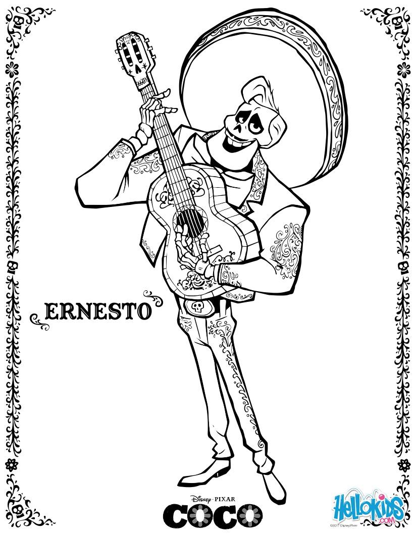 Dibujos para colorear ernesto - es.hellokids.com