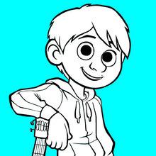 Dibujo para colorear : Miguel