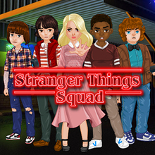 Juego para niños : Stranger Things Squad
