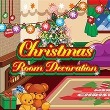 Juego para niños : Christmas Room Decoration