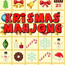 Juego para niños : Krismas Mahjong