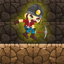Juego para niños : Miner Jump