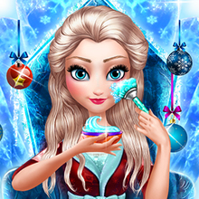 Juego para niños : Ice Queen New Year Makeover