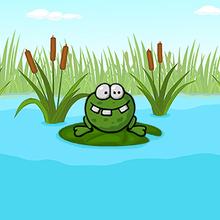 Juego para niños : Jojo Frog