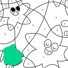 Dibujos Para Colorear Por Numero Es Hellokids Com