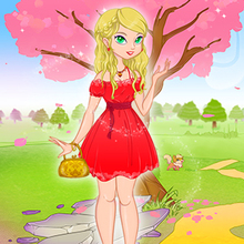 Juego para niños : Dress Up The Lovely Princess