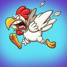 Juego para niños : Angry Chicken