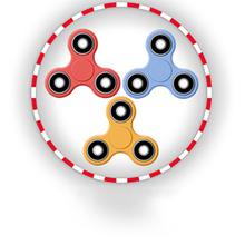 Juego para niños : Fidget Spinner Multiplayer