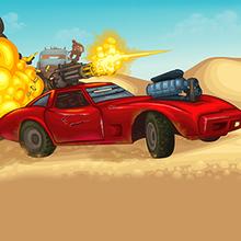 Juego para niños : Road of Fury: Desert Strike