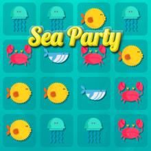 Juego para niños : Sea Party