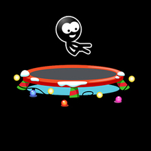 Juego para niños : Trampoline Stickman