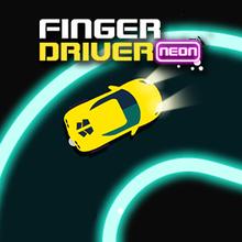 Juego para niños : Finger Driver Neon
