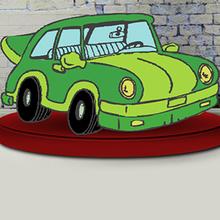 Juego para niños : Coloring Cars Time