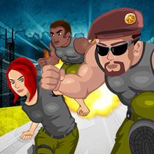 Juego para niños : Soldier Rush