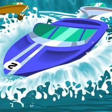 Juego para niños : Speedy Boats