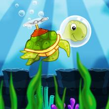 Juego para niños : Scuba Turtle