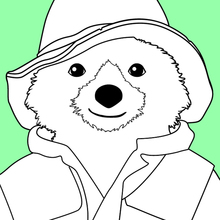 Retrato del oso Paddington